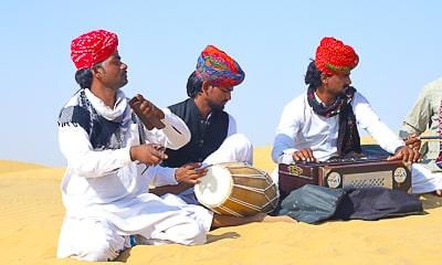Pokhran - Jaisalmer - Sam